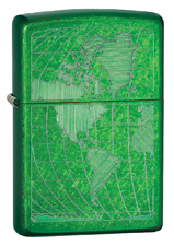 Zippo 24949 Meadow Green Lighter